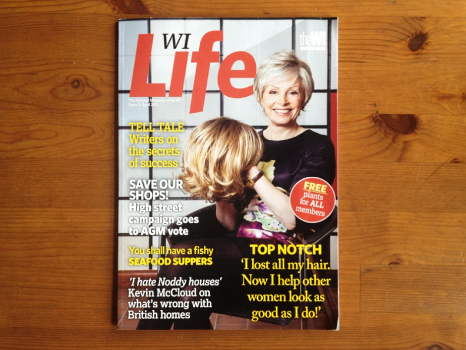 WI Life April Issue Cover