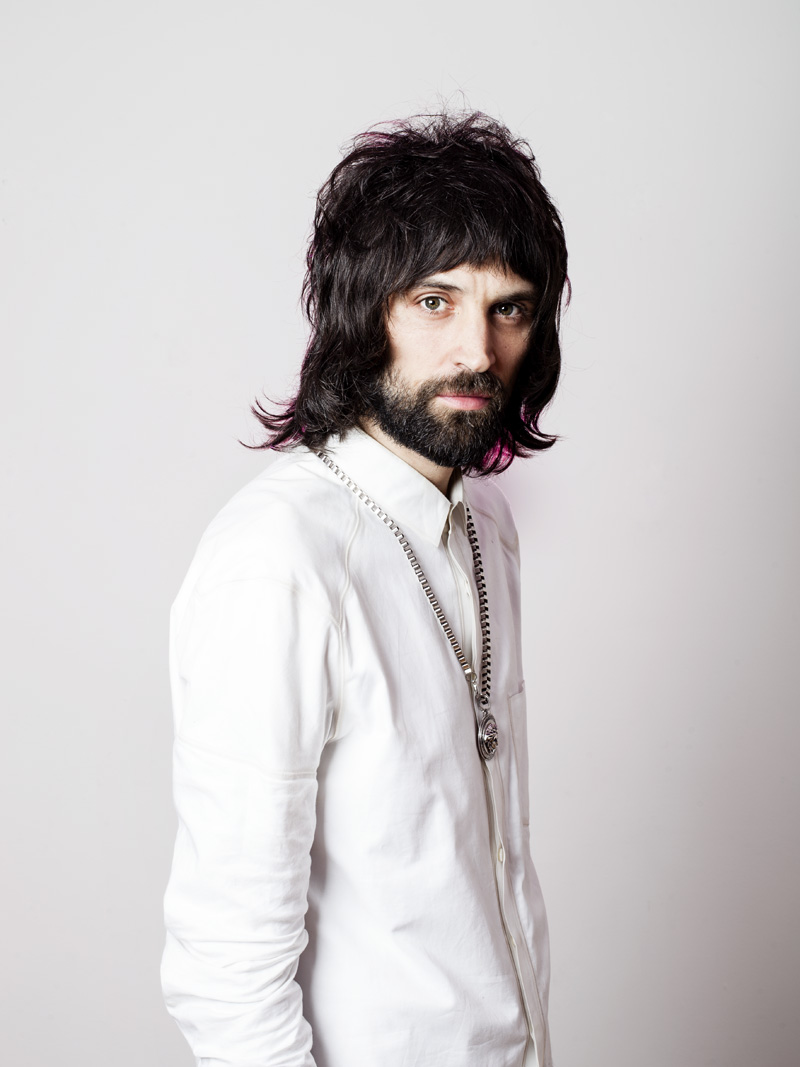 Sergio Pizzorno, guitarist in the band Kasabian